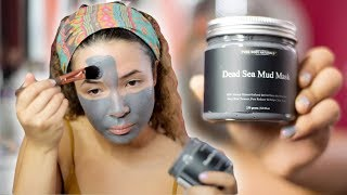PURE BODY NATURALS DEAD SEA MUD MASK REVIEW !!!