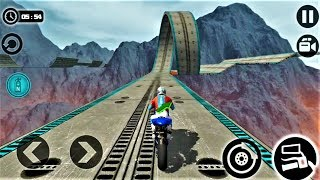 Impossible Moto Bike Tracks 3D 2018-Best Android Gameplay HD #04