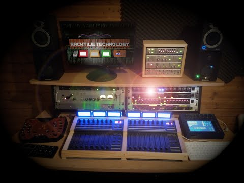 Racktile Records Studio Umbau 2021
