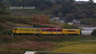 ARSGW-0420F 【キハ20】 トロッコ列車、加津佐へ 【島原鉄道】A