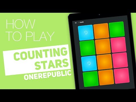 Thumbnail: How to play: COUNTING STARS (OneRepublic) - SUPER PADS - Claps Kit