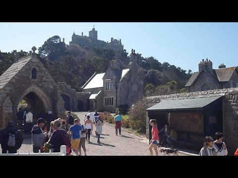 A Visit  to St Michaels Mount  Cornwall England April, 2015