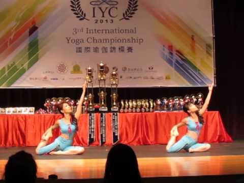 2013 International Yoga Championship Taiwan Rhythmic Yoga