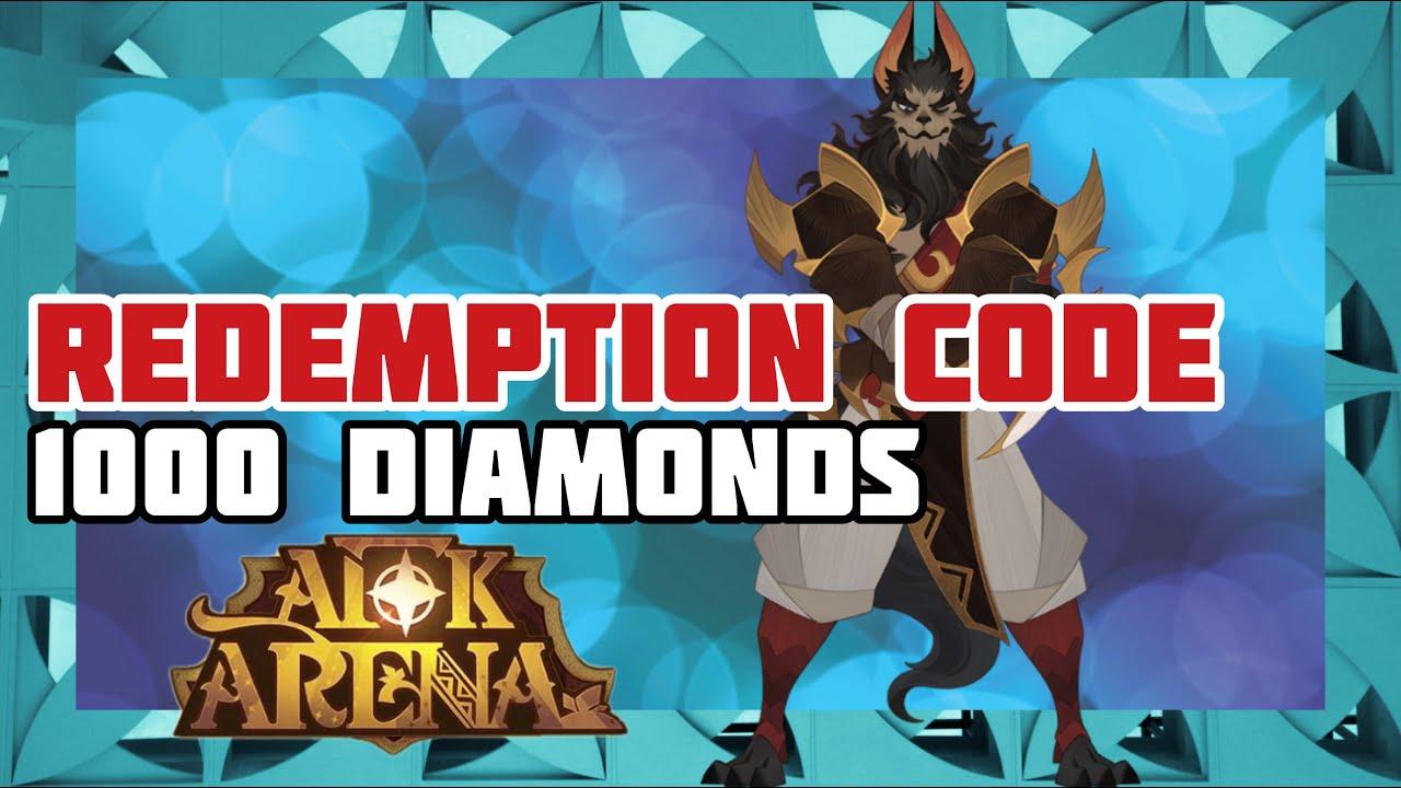 1k Diamonds | Redemption Code | AFK Arena - YouTube