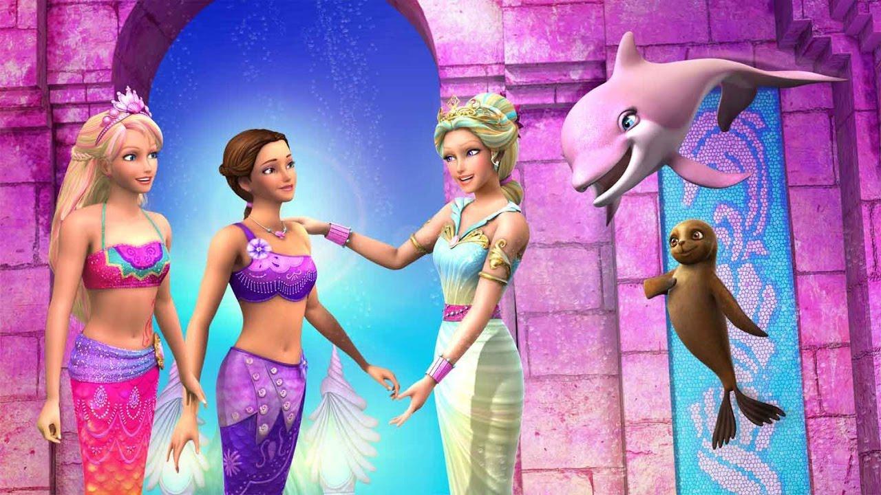 Barbie et le secret des sir nes 2 barbie en francais nouveau film complet youtube - Barbi et le secret des sirenes 2 ...