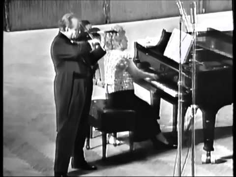 David Oistrakh - Dvořák - Mazurek in E minor, Op 49