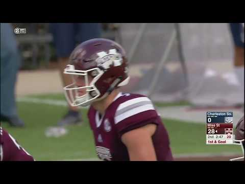 Mississippi State vs Charleston Southern NCAA Football Highlights 2017