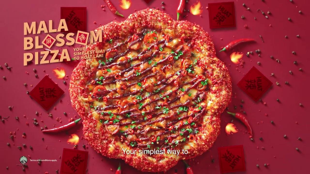 Pizza Hut CNY Mala Blossom (6 sec)