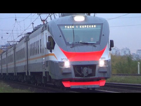 Перегонка электропоезда ЭП2Д-0008 ЦППК, резервом