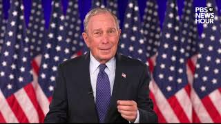 WATCH: Michael Bloomberg's full speech at the 2020 Democratic National Convention
