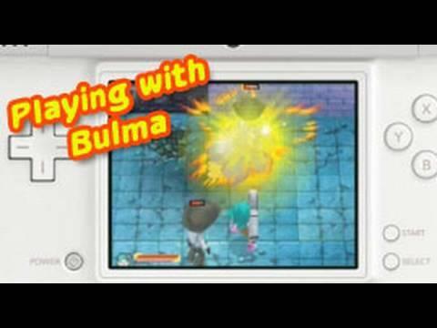 Dragon Ball Origins 2 - NDS - Gameplay Bulma