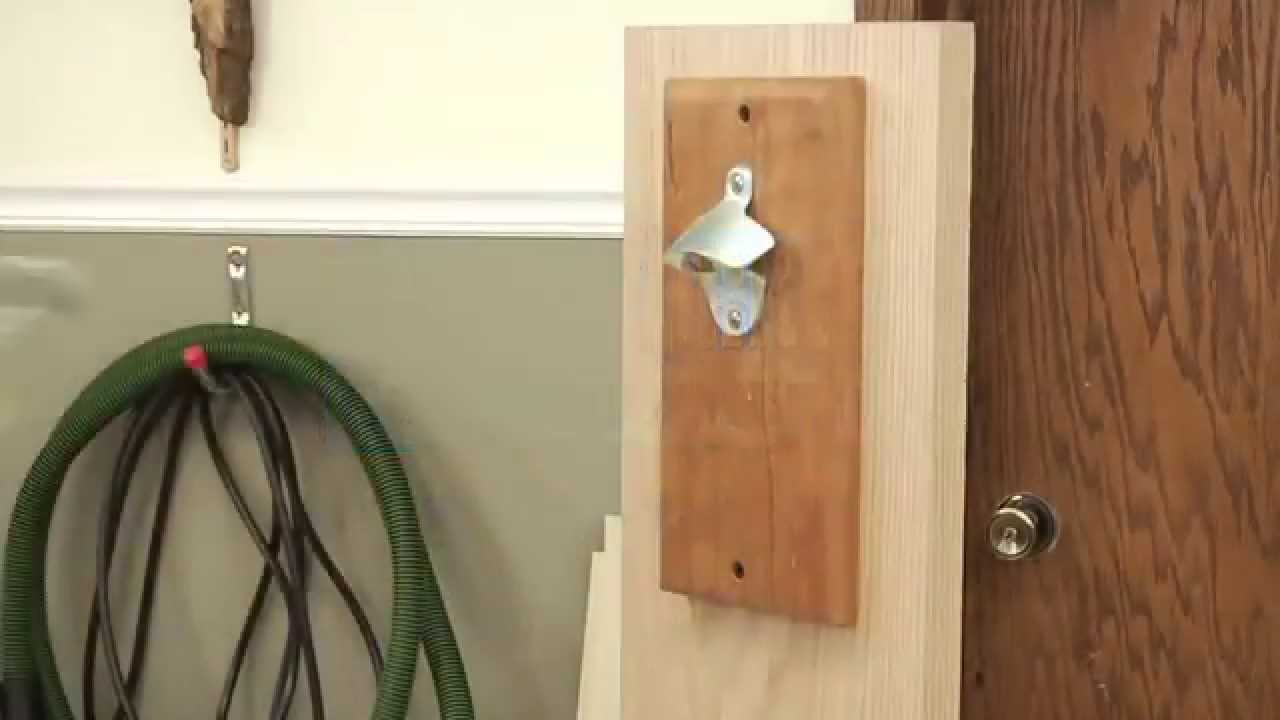 Posthaste Project Magnetic Bottle Opener With Cap Catcher
