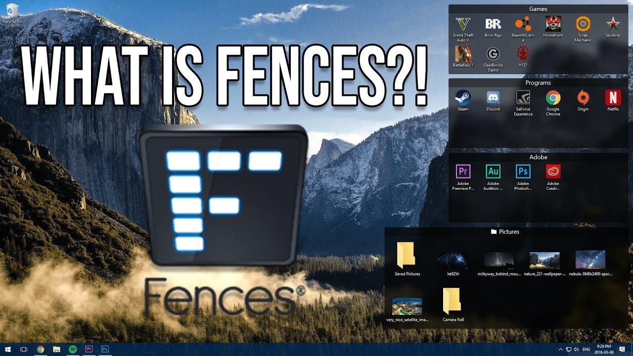 FENCES - BEST WINDOWS 10 DESKTOP ORGANIZER!?