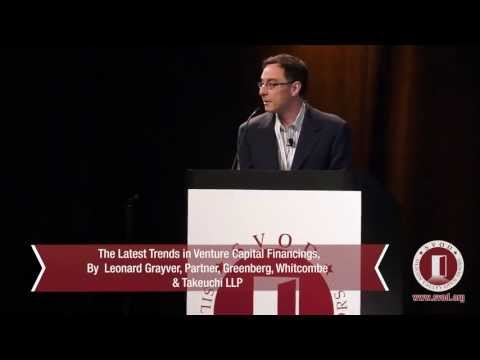 "SVOD13: ""Trends in venture capital financings"", Leonard Grayver"