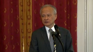 Chinese Ambassador Cui Tiankai makes first visit to Kentucky