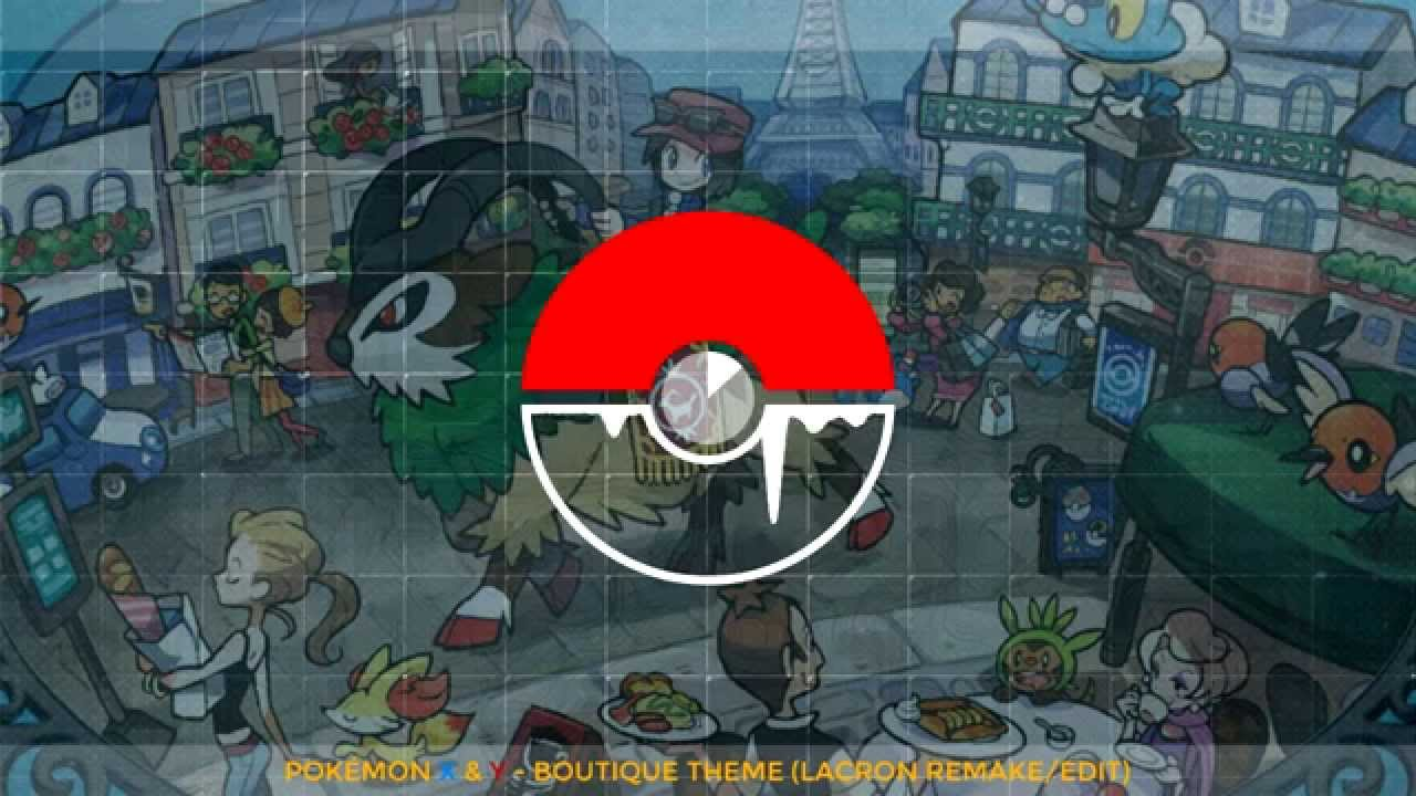 Pokémon X Y Boutique (Clothing Shop) Theme (LaCron Remake/Edit/Remix) FREE DL