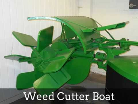 Weed Cutter Boat