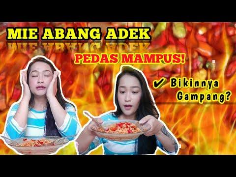 TRAGIS !! 200 Cabe Rawit Indomie Abang Adek Pedes Mampus.