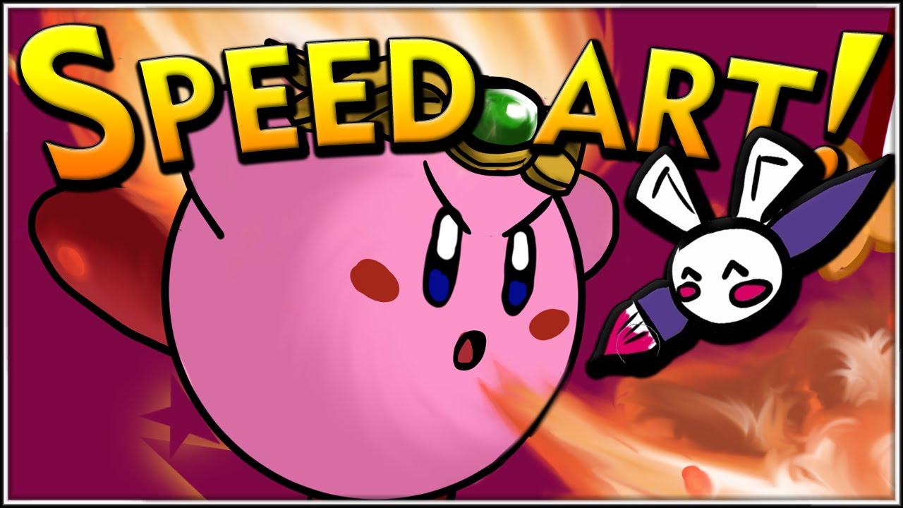 Kirby Nintendo  SPEED ART  YouTube