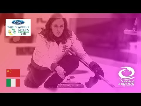 China v Italy - Round-robin - Ford World Women's Curling Championships 2018