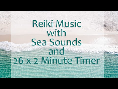 Reiki 2 Minute Timer With Relaxing Music And Sea Sounds