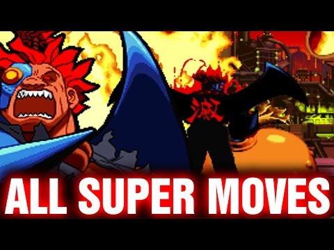 Marvel Super Heroes Vs Street Fighter All Super Combos