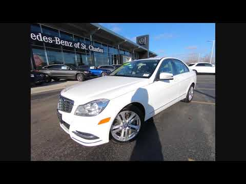 St Charles Mercedes >> 2014 Mercedes Benz C Class C 300 Luxury 4matic St Charles Il 20167a