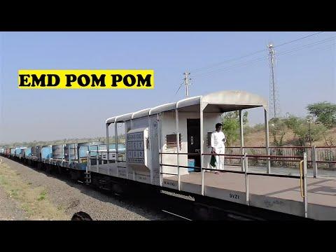 EMD Freight Honks Mumbai Pandharpur Passenger | Pophlaj
