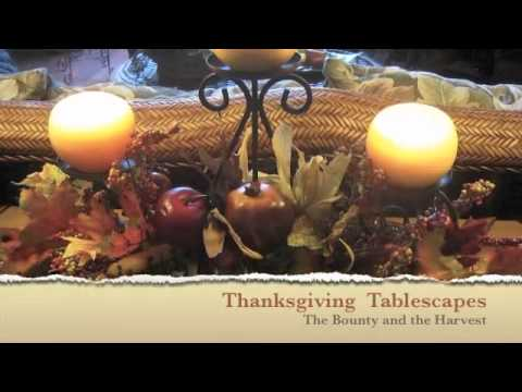 Tablescapes & Holiday Decorating