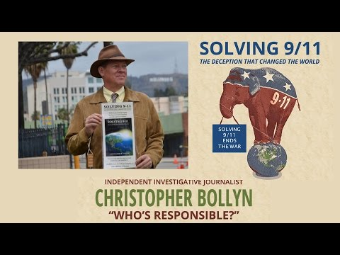 """Solving 9-11 Ends the War"" - Christopher Bollyn - March 7th, 2016"