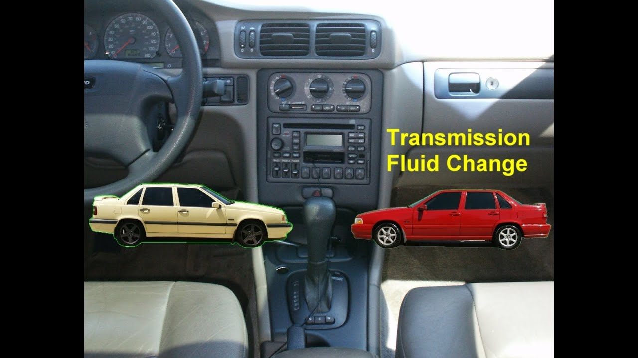 automatic transmission fluid change service volvo 850 s70 votd rh youtube com