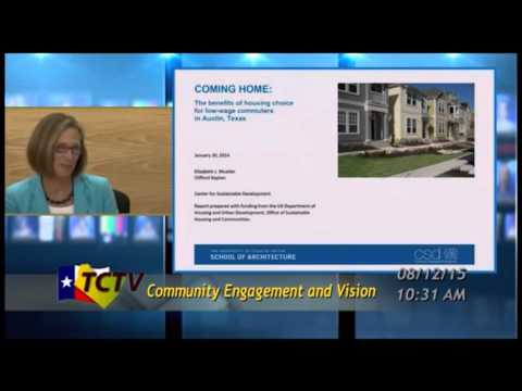 [TCTV] Laura Morrison on Mixed-Use Communities and Affordability - Briefing to RMI (2015-08-12)