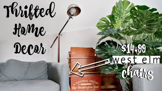 THRIFTED DECOR | MASTER BEDROOM | ANTHROPOLOGIE INSPIRED!!