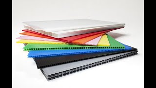 Corrugated plastic sheets supplier in China