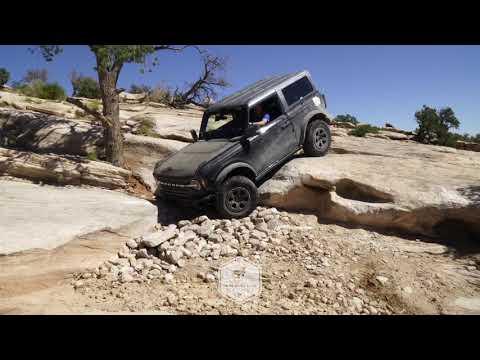 Ford Bronco testowany na bezdrożach