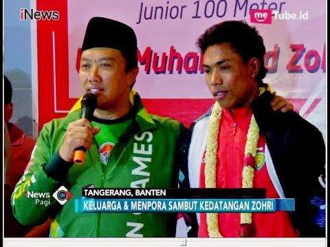 Tiba di Soekarno-Hatta, Lalu Muhammad Zohri Dikerubungi Masyarakat Indonesia - iNews Pagi 18/07