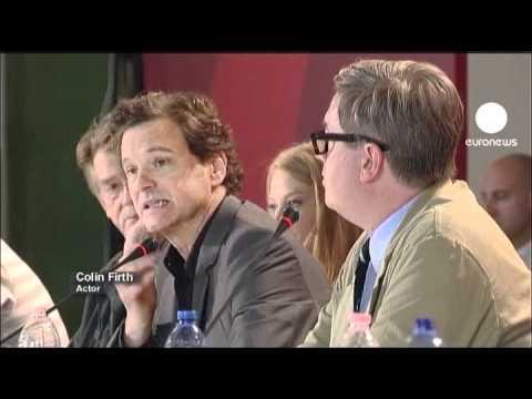 Venezia, tappeto rosso per Colin Firth