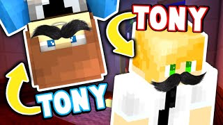 Minecraft with DETECTIVE TONY and...MURDERER TONY too! (Minecraft Murder Mystery)