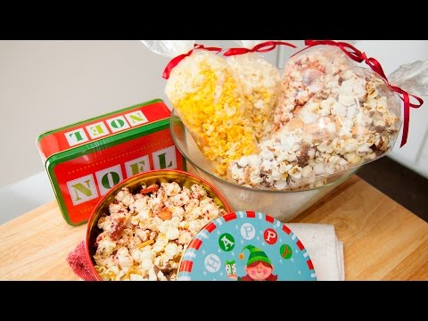 POPCORN, 4 FLAVORS (EDIBLE CHRISTMAS GIFTS)
