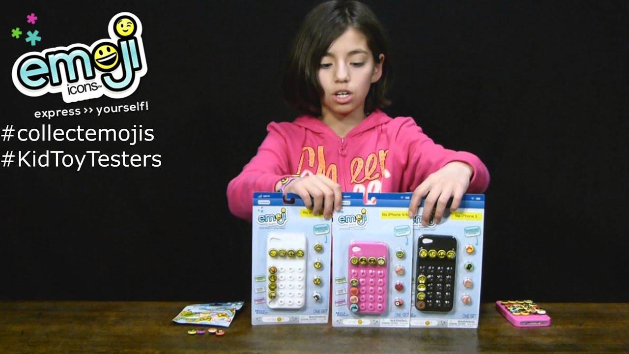 Emoji Phone Case Giveaway - KidToyTesters - YouTube
