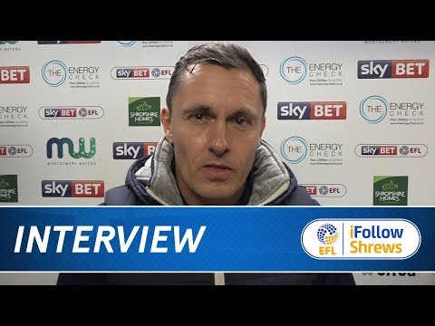 INTERVIEW | Paul Hurst post Fleetwood- Town TV