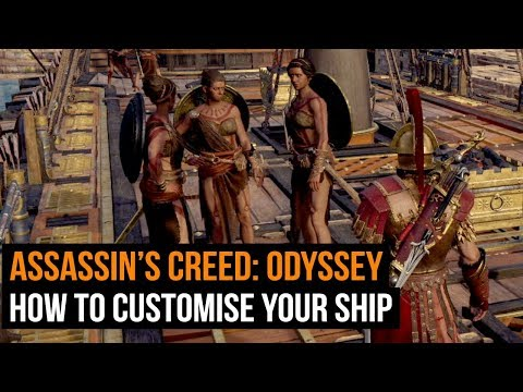 Assassin's Creed: Odyssey - Everything we know about ship customisation