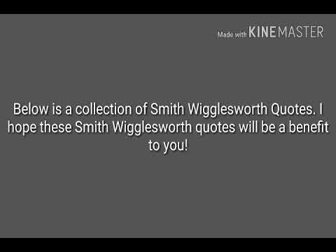 I Hope These Smith Wigglesworth Quotes Will Be A Benefit To You Simple Smith Wigglesworth Quotes