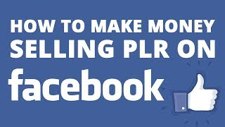Learn how i make money on facebook selling plr digital products without the need for any host, payment button integration and no technical skills required. a...