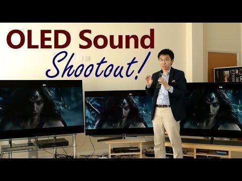 Sony A1 Acoustic Surface vs Panasonic EZ1002 OLED TV Sound Shootout!