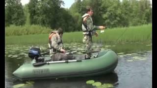 Рыбалка на надувной лодке DINGO 32F, лодка ПВХ(DINGO - хит 2013 года, недорогая и супер-качественная лодка для рыбалки, разработанная в Петербурге крупнейшим..., 2013-05-07T12:57:37.000Z)