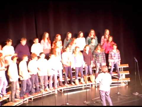 2013 Voices of the (603) - Timberlane Regional Middle School - Rock 'n Roll & My Hands Start Clap'n