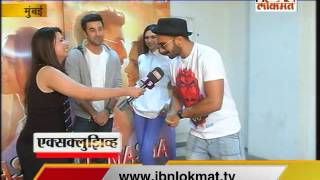 IBN Lokmat Exclusive : Ranveer Singh at Tamasha Promotions with Ranbir & Deepika
