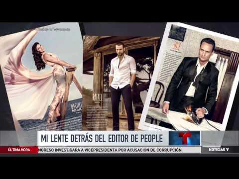 Un día en la vida del editor de la revista People en Español | Noticiero | Telemundo Noticias