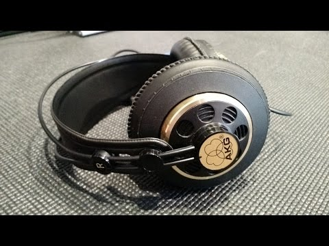 Z Review - AKG K240 Vintage 600Ω RARE!! Like New! BOLD TEXT!!